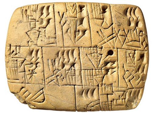 Resultado de imagen para foto de de 100 tablillas con escritura cuneiforme babilónicas