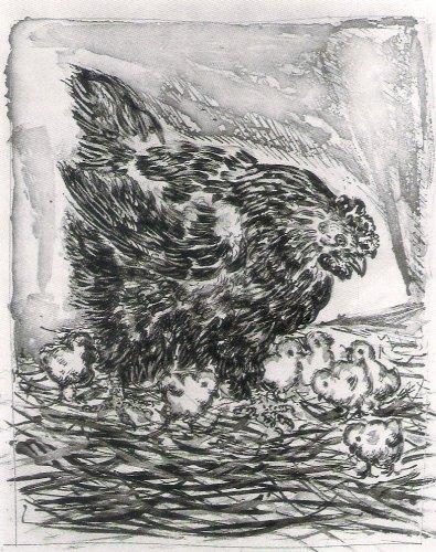Imagen 6 - Gallina y polluelos de Pablo Picasso