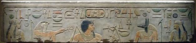 Relieve funerario de Amenemhat I