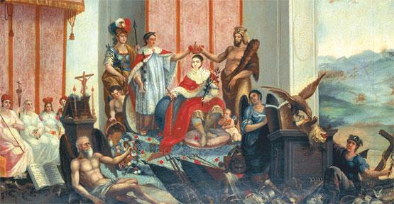 Alegoría de la coronación imperial de Agustín de Iturbide
