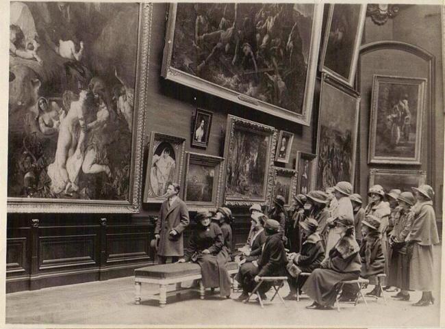 Imagen 5 - Visita guiada al museo del Louvre en 1923
