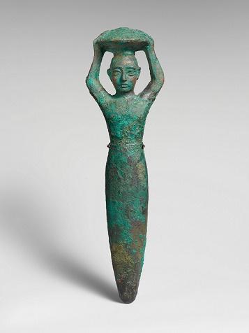 Figurilla representativa del rey Shulgi