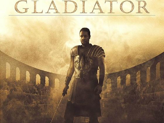 Una de las imágenes promocionales de Gladiator
