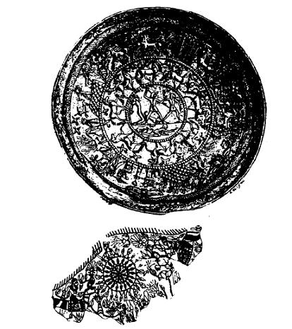 Dibujos basados en piezas reales de artesanía del mundo fenicio halladas en yacimientos arqueológicos