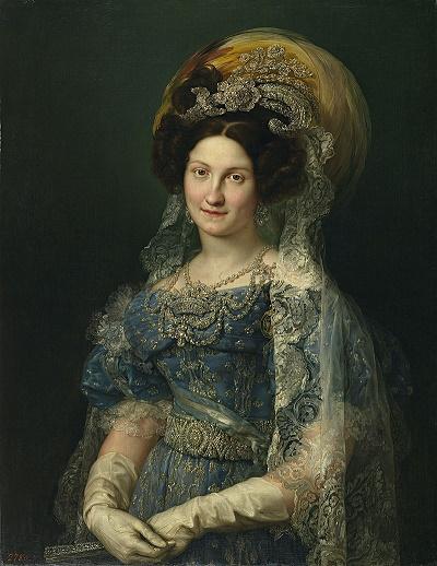 María Cristina de Borbón Dos Sicilias