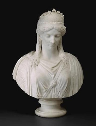 Zenobia de Palmira (Harriet Hosmer, 1857)