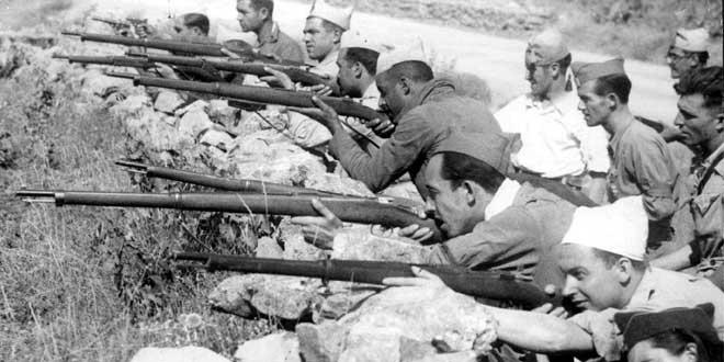 Fotografía de la guerra civil española en territorio aragonés