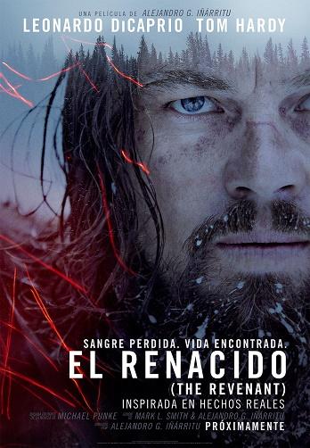 """Cartel de la película """"El renacido"""""""