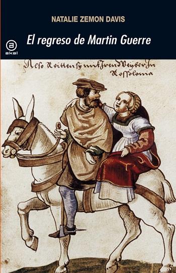 """Portada de una de las muchas ediciones del libro """"El regreso de Martin Guerre"""""""