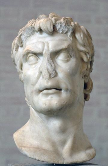 Busto de Lucio Cornelio Sila, uno de los combatientes de las guerras sertorianas