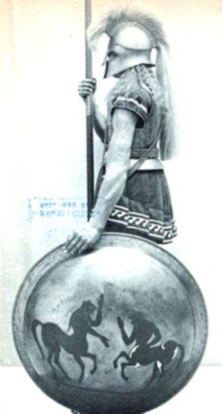 Modelo prototípico de hoplita espartano