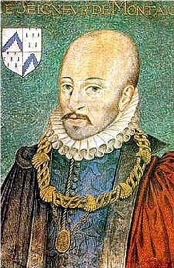 Michel de Montaigne, por Daniel Dumonstier
