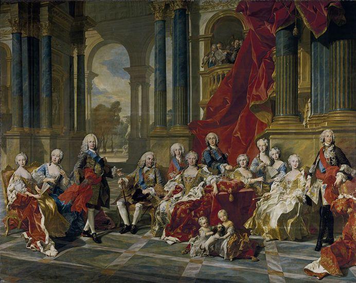 Retrato de la Familia de Felipe V