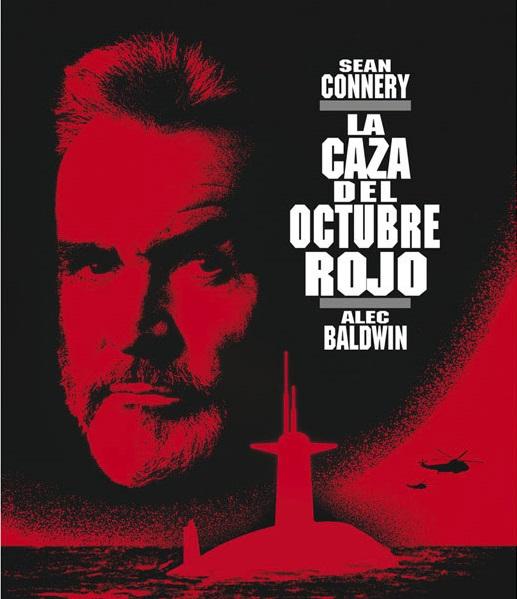 Cartel de la película La caza del Octubre Rojo