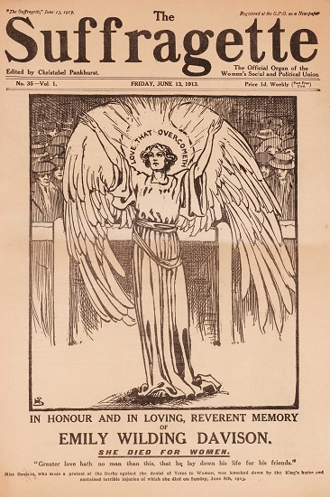 Edición de The Suffragette del 13 de junio de 1913