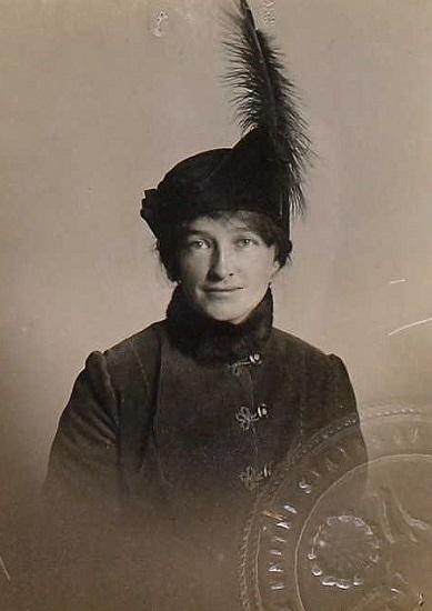 Fotografía de Ruth-Ann Baldwin, una de las pioneras del cine