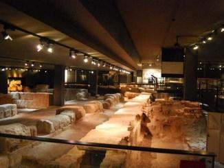 Restos de las antiguas termas de la Valentia romana