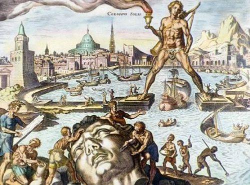 El Coloso de Rodas, según van Heemskerck