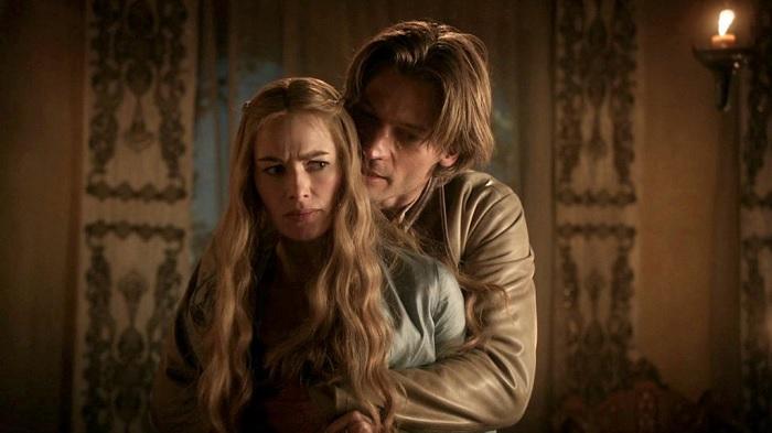Cersei y Jaime Lannister, personajes de Juego de Tronos