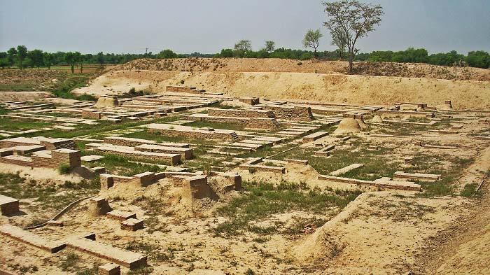 Ruinas de Harappa, una de las ciudades más importantes de la Historia antigua de la India