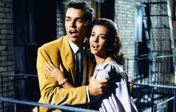 María y Tony, West Side Story