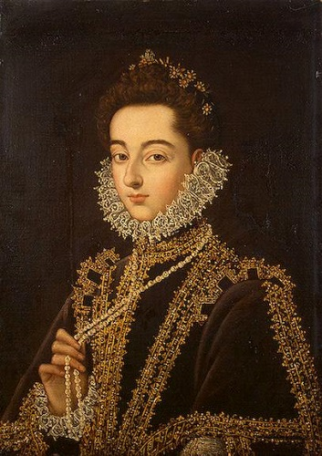 Catalina Micaela de Austria, hija de Felipe II