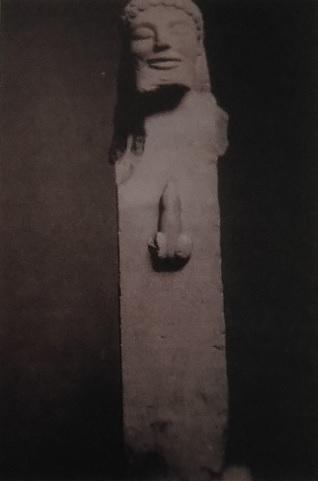 Estatua hermes del tesoro de Sifnos, del 520 aC