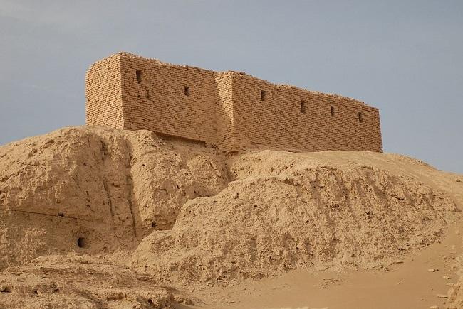 Ruinas actuales del templo de El Ekur, en Nippur