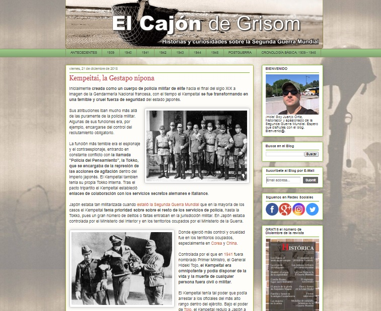 Captura de pantalla de El Cajón de Grisom