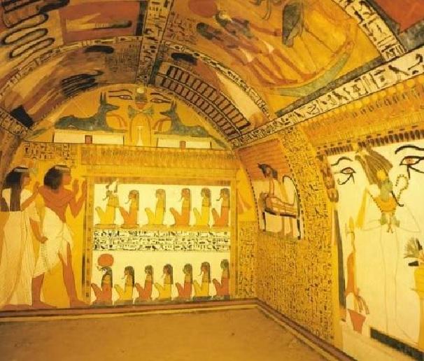 Tumba de Sennedjem, funcionario en Deir el-Medina