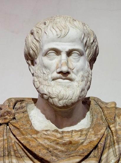 Busto romano de Aristóteles