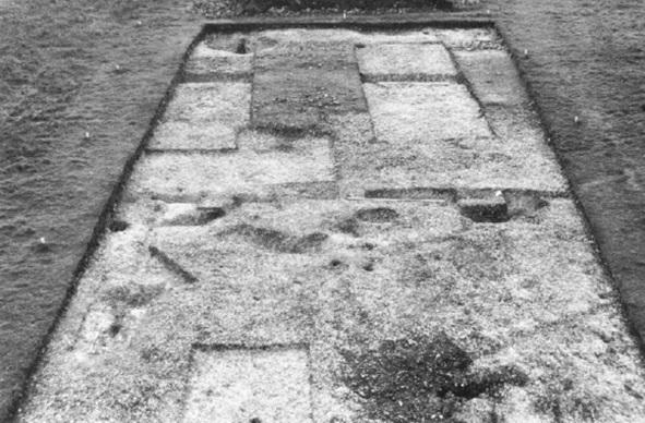 Yacimiento de Lowbury Hill, uno de los pocos nemeton que podemos considerar relacionadas con el culto druídico durante época romana