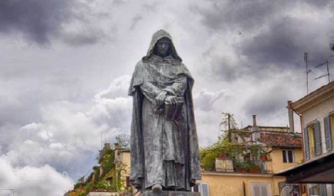Estatua de Giordano Bruno en Roma
