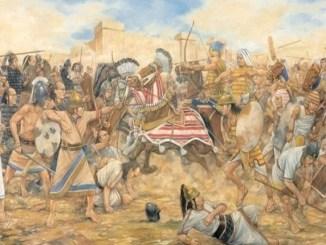 Batalla de Megiddo entre Egipto y el Reino de Judá año 609 a.C. (Alchetron)