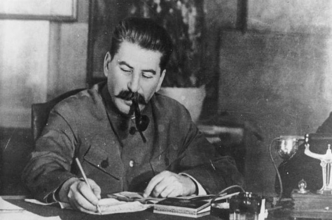 Fotografía de Iosif Stalin