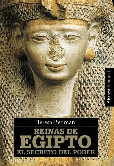 Portada del libro Reinas de Egipto el secreto del poder