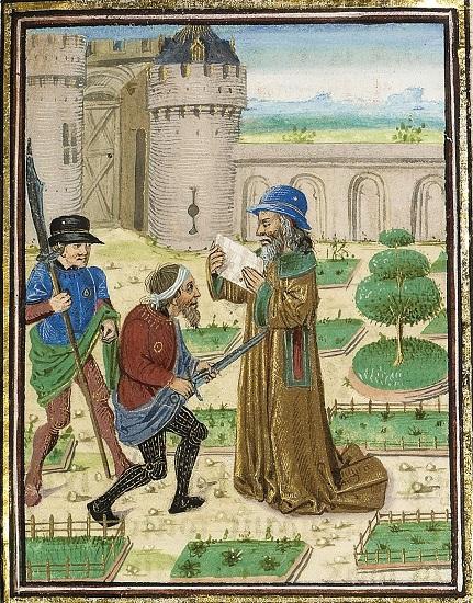 El asesinato de Parmenión, víctima de la conspiración para el asesinato de Alejandro Magno