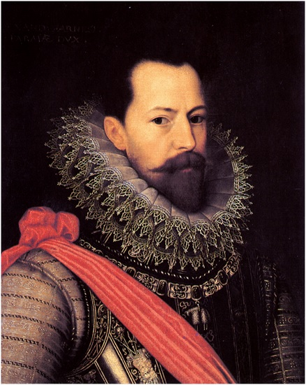 Alejandro Farnesio, Duque de Parma, líder de la intervención española en las guerras de religión