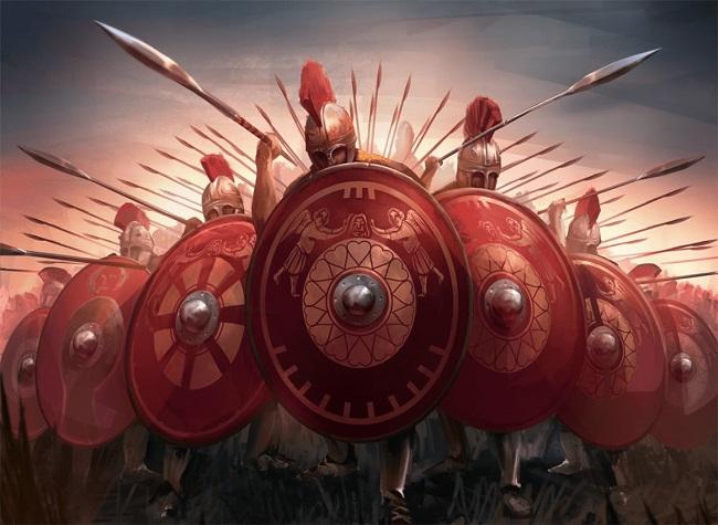 Reconstrucción de una legión romana de tiempos de Dioclesiano, importante figura de la cronología del Imperio Romano