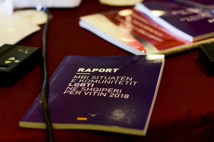 The annual report of LGBTI organizations in Albania