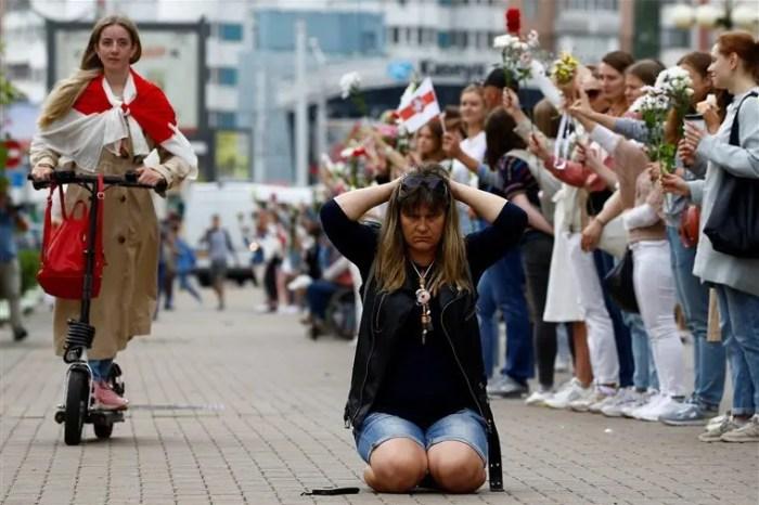 Rrëmbehet opozitarja në Bjellorusi, qindra studentë protestojnë e arrestohen