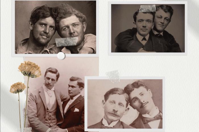Foto të papublikuara më parë, shkrepur në shekullin e dashurisë së ndaluar