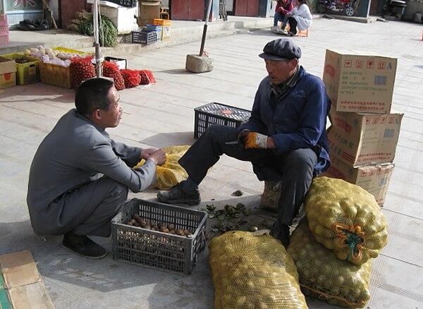 Una de proverbios populares chinos