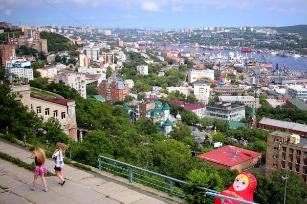 El transiberiano por etapas: Vladivostok