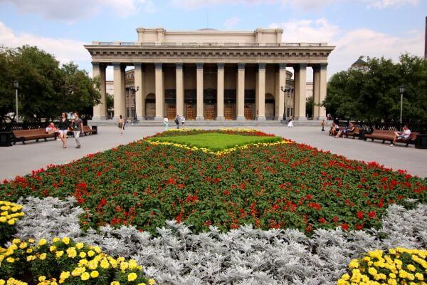 El transiberiano por etapas: Novosibirsk
