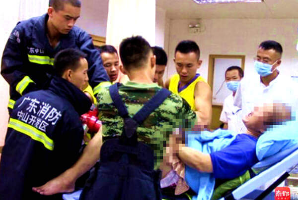 China: bomberos rescatan escroto atrapado entre imanes terapéuticos
