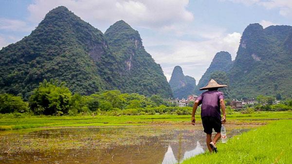 Una ruta de viaje para unir tres comarcas chinas de ensueño