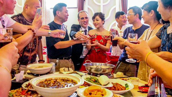 Mi gran boda china