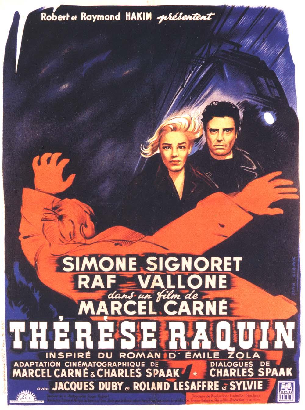 Poster do filme Thérèse Raquin