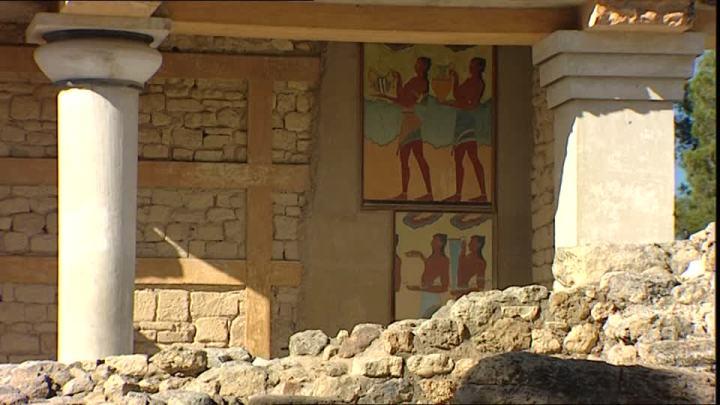 Baño griego, Knossos